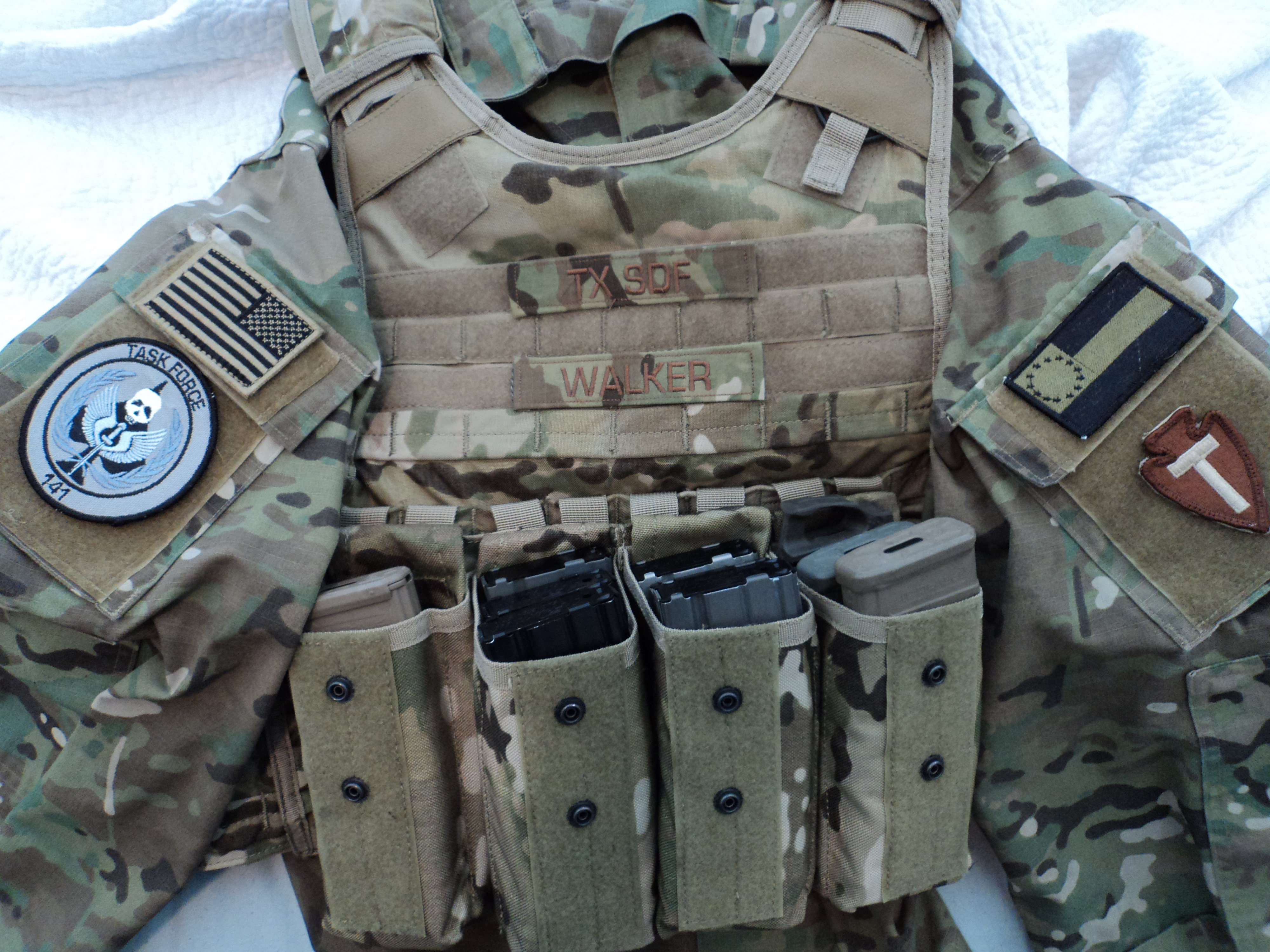 tactical gear patches