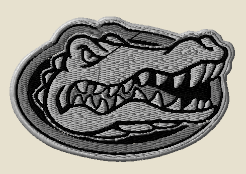 tactical sports patches - florida gators in swat colors