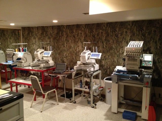 OML embroidery machines