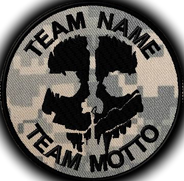 team template ghost custo patch