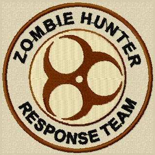 zombie hunter velcro patch.jpg