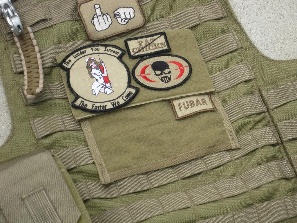 morale patches look great on any tactical gear